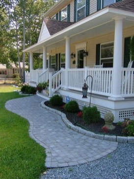 Comfy Front Yard Pathways Landscaping Ideas You Must Know06