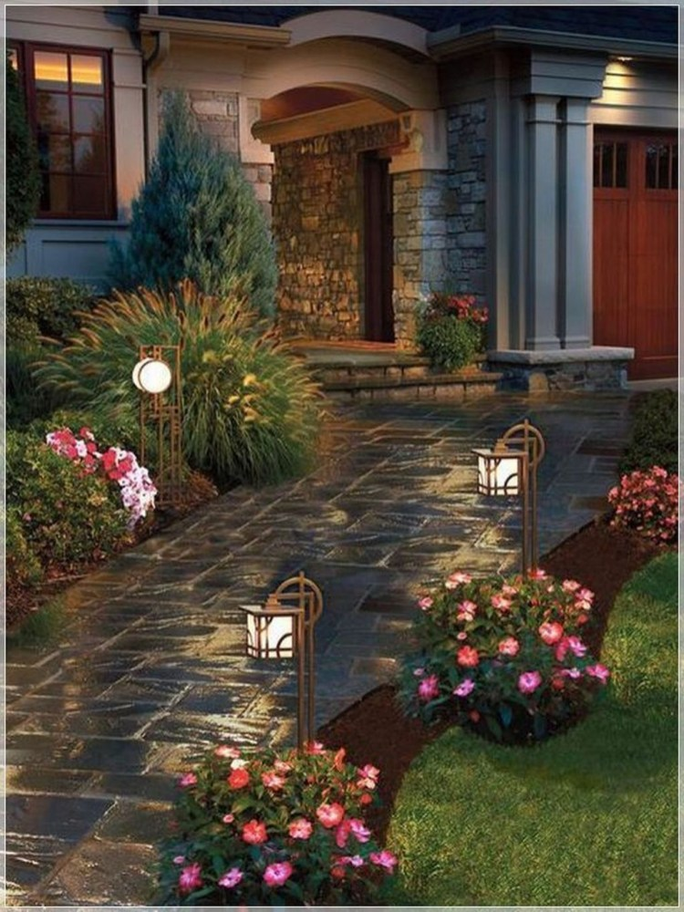 Comfy Front Yard Pathways Landscaping Ideas You Must Know10