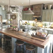 Cozy Farmhouse Kitchen Design Ideas To Try Asap33