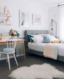 Delicate Tiny Bedroom Decor Ideas For Teens11