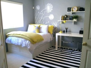 Delicate Tiny Bedroom Decor Ideas For Teens38