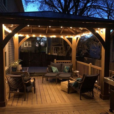 Gorgeous Backyard Gazebo Design Ideas You Must Have30