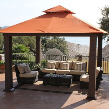 Gorgeous Backyard Gazebo Design Ideas You Must Have32