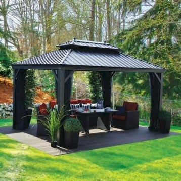 Gorgeous Backyard Gazebo Design Ideas You Must Have41