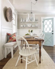 Graceful Farmhouse Dining Room Design Ideas That Looks Cool01