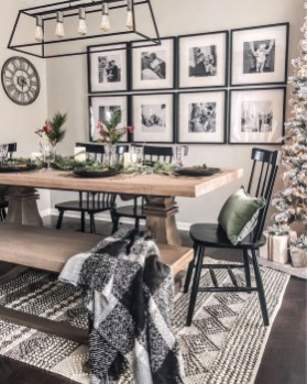 Graceful Farmhouse Dining Room Design Ideas That Looks Cool15