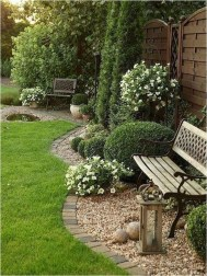 Lovely Backyard Garden Ideas That Looks Elegant29