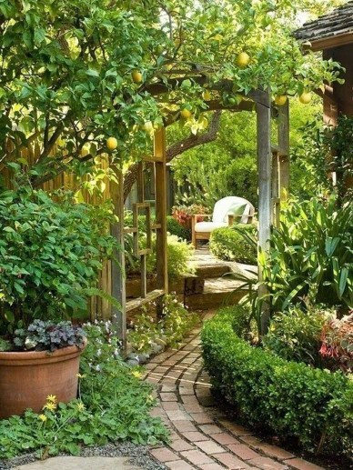 Lovely Backyard Garden Ideas That Looks Elegant42