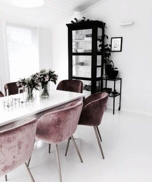 Luxury Feminime Dining Room Design Ideas To Try Asap17