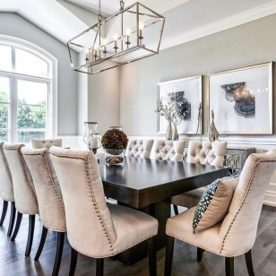 Luxury Feminime Dining Room Design Ideas To Try Asap37