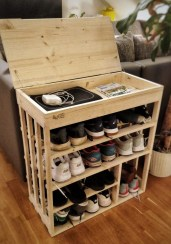 Outstanding Shoes Rack Design Ideas For Your Home40