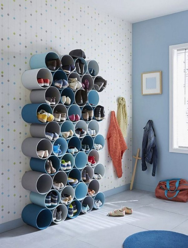 Outstanding Shoes Rack Design Ideas For Your Home46