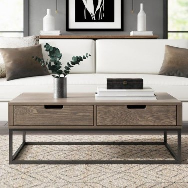 Pretty Coffee Table Design Ideas To Try Asap38