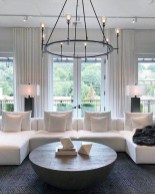 Adorable Black Living Room Ideas That Looks Cool38