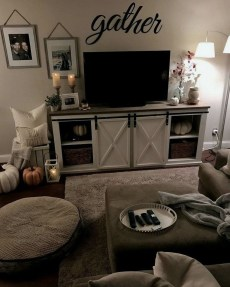 Awesome Living Room Decoration Ideas For Fall18
