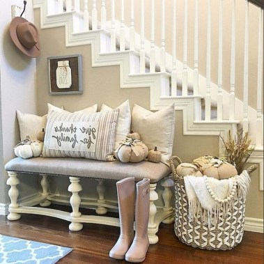 Awesome Living Room Decoration Ideas For Fall37