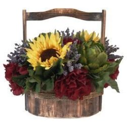 Brilliant Faux Flower Fall Arrangements Ideas For Indoors04