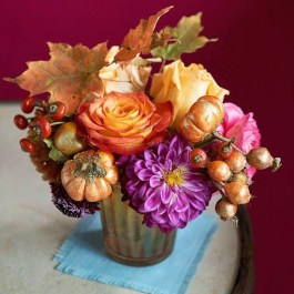 Brilliant Faux Flower Fall Arrangements Ideas For Indoors19