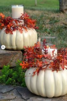 Brilliant Faux Flower Fall Arrangements Ideas For Indoors25