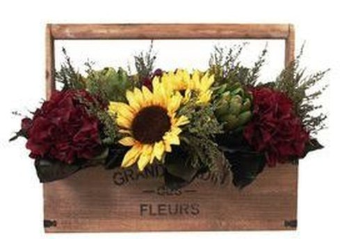 Brilliant Faux Flower Fall Arrangements Ideas For Indoors34