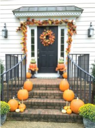 Excellent Diy Fall Pumpkin Topiary Ideas For Home Décor09