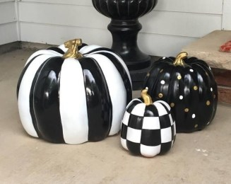 Excellent Diy Fall Pumpkin Topiary Ideas For Home Décor13