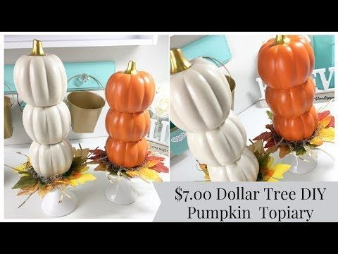 Excellent Diy Fall Pumpkin Topiary Ideas For Home Décor26