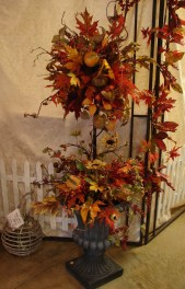 Excellent Diy Fall Pumpkin Topiary Ideas For Home Décor36