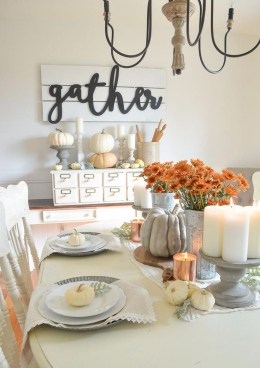 Stunning Fall Home Decor Ideas With Farmhouse Style15