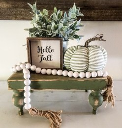Stunning Fall Home Decor Ideas With Farmhouse Style38