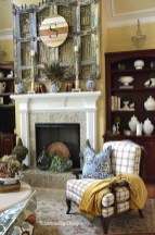 Wonderful Fireplace Makeover Ideas For Fall Home Décor03