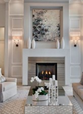 Wonderful Fireplace Makeover Ideas For Fall Home Décor11