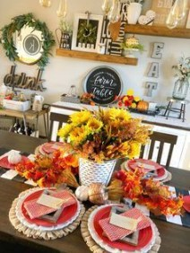 Wonderful Fireplace Makeover Ideas For Fall Home Décor12