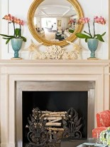 Wonderful Fireplace Makeover Ideas For Fall Home Décor17