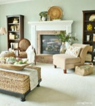 Wonderful Fireplace Makeover Ideas For Fall Home Décor39