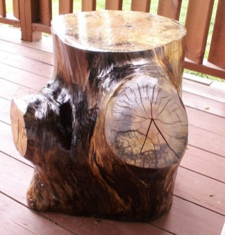 Attractive Diy Logs Ideas For Summer Garden To Try Right Now35