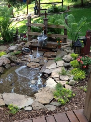 Casual Backyard Ponds Design Ideas For Garden To Try Asap18