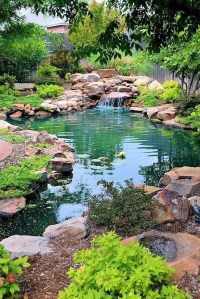Casual Backyard Ponds Design Ideas For Garden To Try Asap21