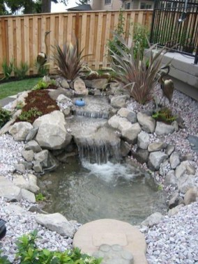 Casual Backyard Ponds Design Ideas For Garden To Try Asap42