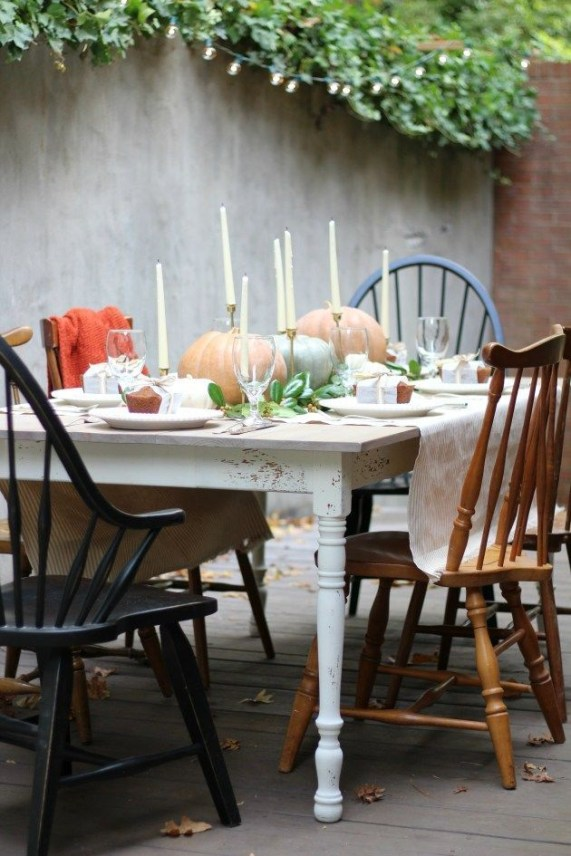 Elegant Diy Thanksgiving Design Ideas For Outdoor Decorations33
