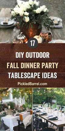Elegant Diy Thanksgiving Design Ideas For Outdoor Decorations47