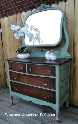 Extraordinary Old Furniture Ideas To Beautify The Decor22