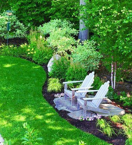 Modern Shade Front Yard Design Ideas For Summer04