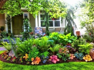 Modern Shade Front Yard Design Ideas For Summer10