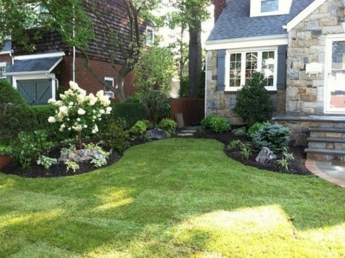 Modern Shade Front Yard Design Ideas For Summer24