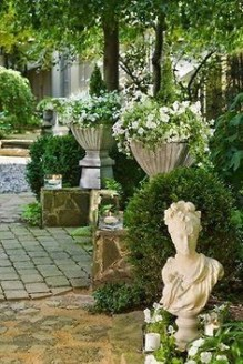 Modern Shade Front Yard Design Ideas For Summer30