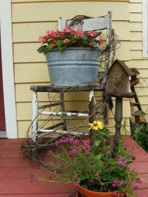 Pretty Planter Design Ideas For Summer Porch To Looks Amazing30