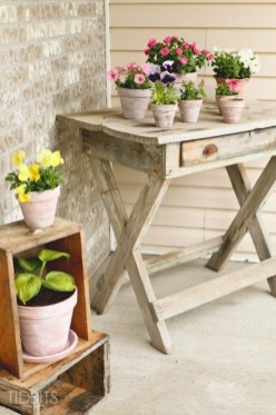 Pretty Planter Design Ideas For Summer Porch To Looks Amazing33