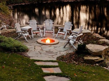 Superb Diy Fire Pit Ideas To Try In The Backyard07