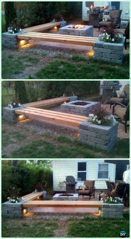 Superb Diy Fire Pit Ideas To Try In The Backyard13